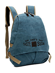 Women Bags All Seasons Canvas Backpack for Shopping Casual Formal Outdoor Office & Career Blue Apricot Light Orange