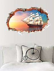Tempo libero 3D Astratto Adesivi murali Adesivi 3D da parete Adesivi decorativi da parete,Carta Materiale Decorazioni per la casaSticker