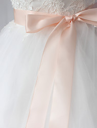 cheap -Polyester/Cotton Satin Wedding Special Occasion Party / Evening Dailywear Sash Women's Sashes