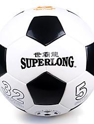Soccers(Branco Preto,Couro Ecológico)
