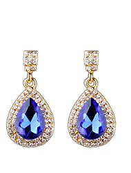 preiswerte -Europäische und amerikanische Mode Diamant Ohrringe eleganten Stil