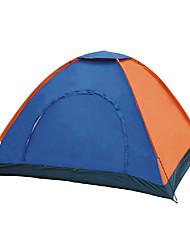 2 persone Tenda Singolo Tenda da campeggio Una camera Tende da campeggio formato famiglia Ompermeabile Antivento Anti-pioggia