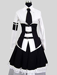 cheap -Gothic Lolita Dress Vintage Inspired Women's Outfits Cosplay Long Sleeves