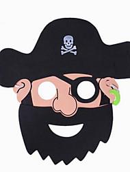 Maschere di Halloween Maschera pirata Giocattoli Gatto Tema Horror Costumi da pirata Cartoni animati 1 Pezzi Unisex Regalo