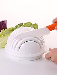 abordables -salade maker easy 60 secondes saladier hachoir légume