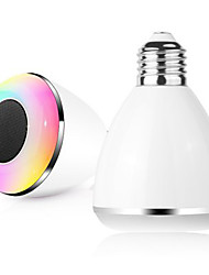 cheap -BL08A Smart Bluetooth 4.0 Music Speaker Lamp LED Bulb E27 Intelligent Light Holiday Party Decoration Gift
