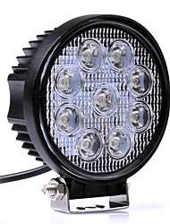 cheap -27W White 6000K LED Car Spotlights Work light Head Lamp Truck Motorcycle Road Fog Lamp Tractor Car LED Headlight Work Lights