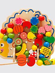 preiswerte -Bildungsspielsachen Freizeit Hobbys Spielzeuge Neuartige Tiere Holz Regenbogen Für Jungen Für Mädchen
