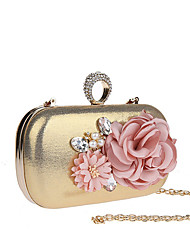 cheap -Women's Bags Polyester Evening Bag Imitation Pearl Flower for Wedding Event/Party Casual Formal Office & Career Winter Spring Summer Fall