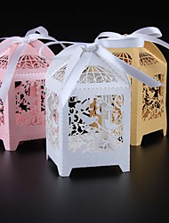 cheap -50pcs birdcage candy box love birds wedding favors box wedding supplies