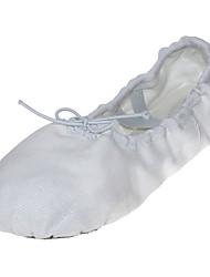 baratos -Sapatilhas de Balé Tecido Sapatilha Sem Salto Não Personalizável Sapatos de Dança Vermelho / Verde / Rosa claro / Interior / Espetáculo
