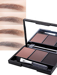 Three Color  Tie-In Lasting Nature Eyebrow Powder Cosmetic Beauty Care Makeup for Face
