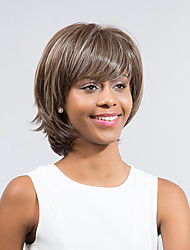 Refreshing Attractive Comfortable  Hot Sale Mixed Color  Synthetic Wigs