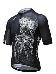 Cyklodres Pánské Krátký rukáv Jezdit na kole Dres Rychleschnoucí Prodyšné Polyester Módní Léto