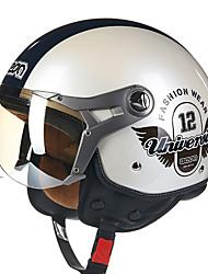 Веон б-100 мотоцикл летний шлем половина шлем Харли шлем анти-туман анти-УФ шлем безопасности однополой моды