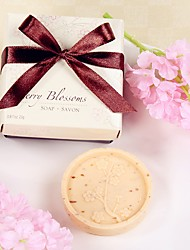 4box/lot Cherry Blossoms Scented Soap Beter Gifts® Wedding Favors