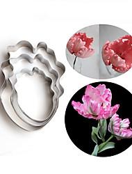 Décorer Outil Fleur Pour Gâteau Acier Inoxydable Haute qualité Papier à cuire