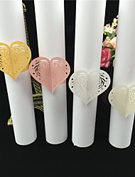 40PCS/lots Hollow Heart Shaped Napkin Rings For Wedding/ Party /Table Decoration Party Favors Party Supplies Wedding Favors