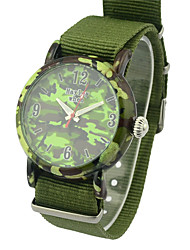cheap -Men's Fashion Watch Fabric Band Charm Green