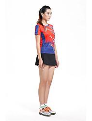 Per uomo T-shirt da corsa Manica corta Traspirante Comodo Set di vestiti per Esercizi di fitness Badminton Corsa Tessuto sintetico M L XL