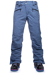 cheap -Men's Ski / Snow Pants Thermal / Warm Breathable Ski / Snowboard Winter Sports Chinlon