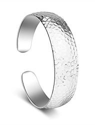 Bracelet Manchettes Bracelets Plaqué argent Autres Fait à la main Mariage Soirée Bijoux Cadeau Argent,1pc