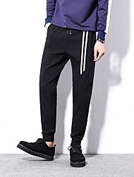 2017 primavera e l'estate dei pantaloni di sport degli uomini pantaloni casual wei pantaloni maschili pantaloni sportivi polsini fascio