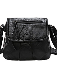 Women Bags All Seasons PU Shoulder Bag for Casual Formal Outdoor Office & Career Professioanl Use Black