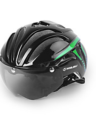 cheap -Bike Helmet 11 Vents Cycling Adjustable Full-Face Urban Mountain Visor Ultra Light (UL) Youth PC EPS Road Cycling Recreational Cycling