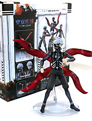 cheap -Anime Action Figures Inspired by Tokyo Ghoul Ken Kaneki PVC 16 CM Model Toys Doll Toy