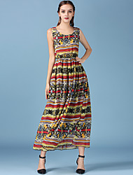 nova esfregar grande vestido balanço slim vestido de praia vestido de cor chiffon sólida resort de luxo