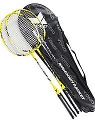 Raquetes para Badminton Durável Liga de Alúminio Um Par × 2 para