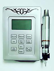 abordables -Machine à tatouer Kit pour débutant - 1 pcs Machines de tatouage avec encres de tatouage, Professionnel Source d'alimentation LED 1 x