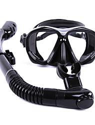 Kits para Snorkeling Snorkels Máscaras de mergulho Anti-Nevoeiro Mergulho e Snorkeling Vidro Borracha Silicone-WHALE