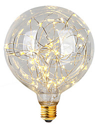 2W E26/E27 LED Filament Bulbs G95 47 leds Integrate LED Decorative Warm White 300lm 2700K AC 220-240V