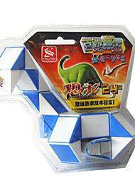 Rubik's Cube Dino Cube Cubo Macio de Velocidade Cubos Mágicos Cubo Mágico Adesivo Liso Faça Você Mesmo Quadrada Dom