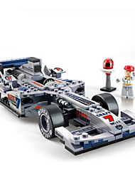 DIY KIT Building Blocks Toy Cars Race Car Toys Square Pieces Not Specified Boys Gift