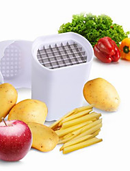 Potato Cutter & Slicer For Fruit Vegetable Stainless Steel Plastic High Quality Creative Kitchen Gadget