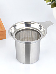 cheap -1PC 8.8*7.5 cm  Stainless Steel Tea Strainer  Brew Coffee Maker Manual