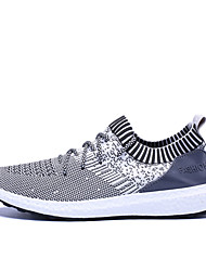 Athletic Shoes Spring Summer Fall Light Up Shoes Comfort Light Soles Tulle Outdoor Office & Career Athletic Low Heel Lace-upBlack Light