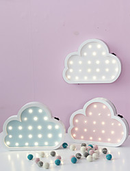 cheap -Nordic Style LED Night Light Table Lamp Wall Lamp Wall Decoration LED Ornament Children Room Decoration  Color  Cloud Cartoon Lamp