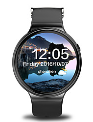 YYI4 Men's Smart Watch Android Smart Watch IQI I4 support 3G WiFi GPS Heart Rate Monitor With 1.39 inch AMOLED Display 512MB RAM 8GB ROM Clock Phone