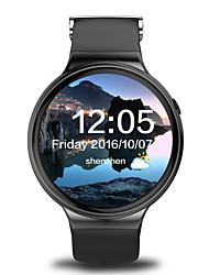 yyi4 montre smart watch android montre intelligente IQI support i4 wifi 3g moniteur de fréquence cardiaque gps hommes avec 1,39 pouces