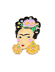 cheap -Women's Boys' Girls' Brooches Unique Design Friendship Fashion Cute Style Enamel Alloy Jewelry Jewelry For Wedding Party Special Occasion