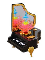 abordables -Caja de música Juguetes Cuadrado Clásico Piezas Día del Niño Regalo