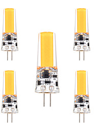 ywxlight® 3w g4 led bi-pin luces 1 leds cob regulable blanco cálido cálido frío blanco 200-300lm ac 12 dc 12-24v