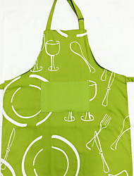 cheap -High Quality Fashion Kitchen Cotton Textile Apron Protection