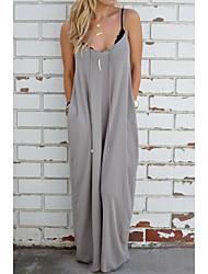 2016 neue Frauen in Europa und Amerika wollen aliexpress ebay Explosion Modelle beiläufiges Kleid Trägerkleid entspannt
