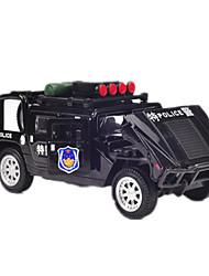 Carrinhos de Fricção Carros de brinquedo Carro de Corrida Carro de Polícia Brinquedos Pato Carro Liga de Metal Metal Peças Rapazes Dom