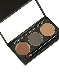 1Pcs Brand Mineral Eyebrow Cake Powder Makeup Palette Waterproof Long Lasting Eye Shadow Eye Brow Gel Set Kit Cosmetics